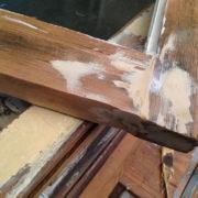 Epoxy window sash repair