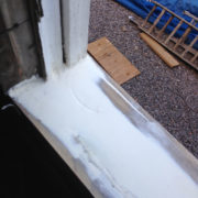 Repaired Sill