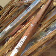 stack of window sashes
